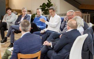 Deelnemers heisessie van Uneto en Rijkswaterstaat