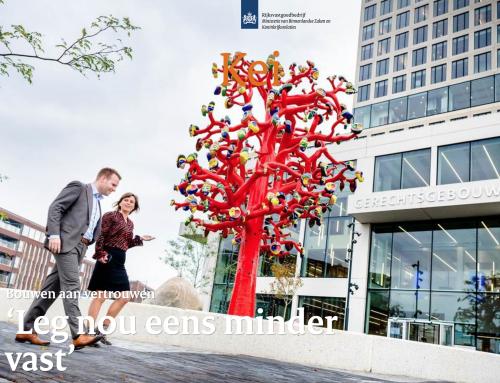Relatiemagazine Rijksvastgoedbedrijf KEI: editie 'de Markt'